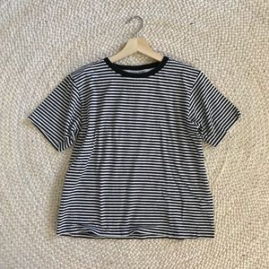 Vintage • Boxy Fit Striped T-Shirt